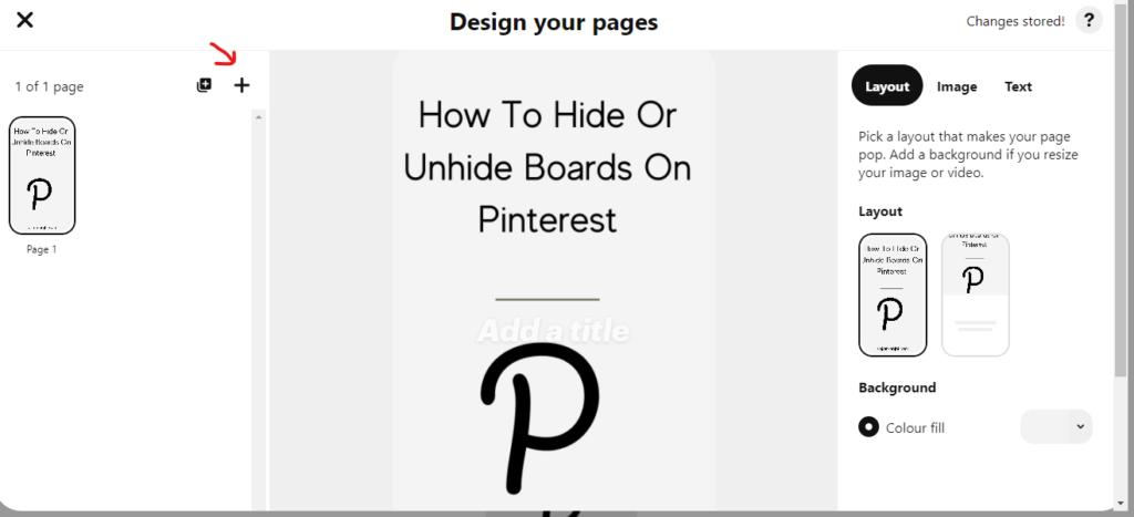 upload pins