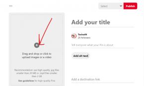 upload a video file